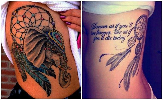 Atrapasueños diseño para tatuajes