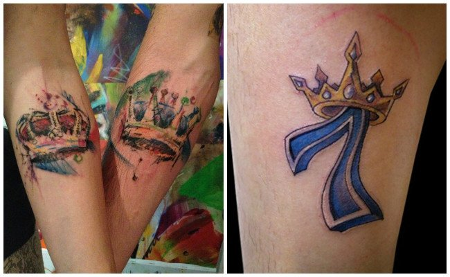 Tatuajes De Coronas De Reina Y De Rey Imágenes Y Significado