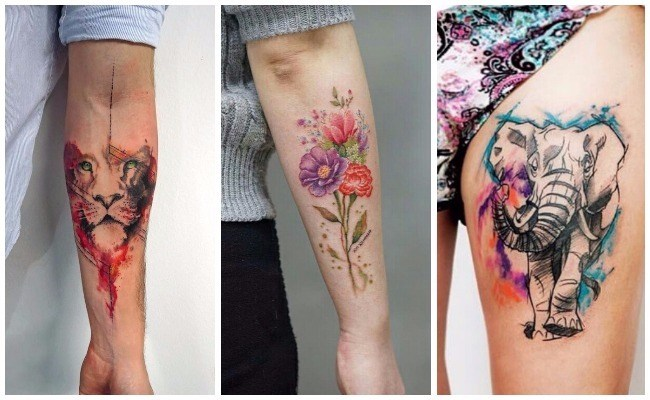 Cuanto cuesta un tatuaje de acuarela