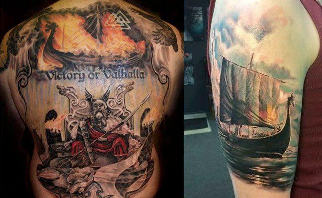 diseno simbolismo de tatuajes vikingos