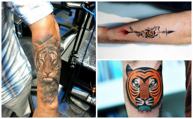Diseños de tatuaje de tigre blanco