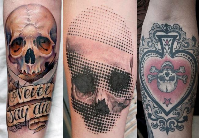 Diseños de calaveras para tatuar