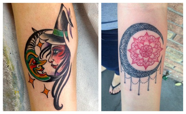 Diseños de lunas para tatuajes