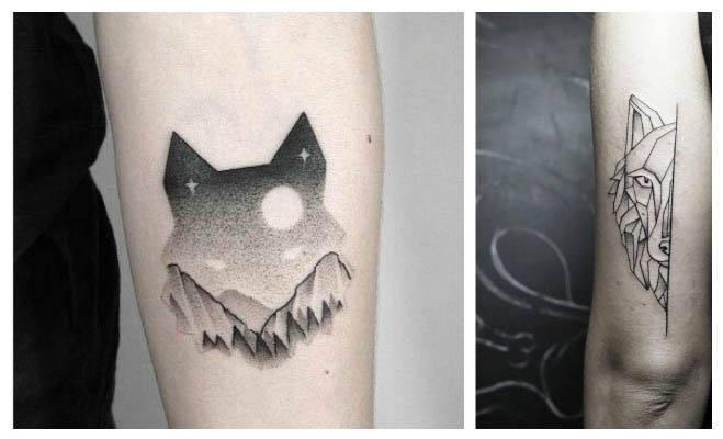 Diseños de tatuajes de lobos