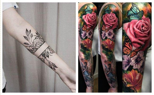 Diseños de tatuajes de rosas