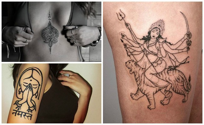 Diseños de tatuajes hindúes