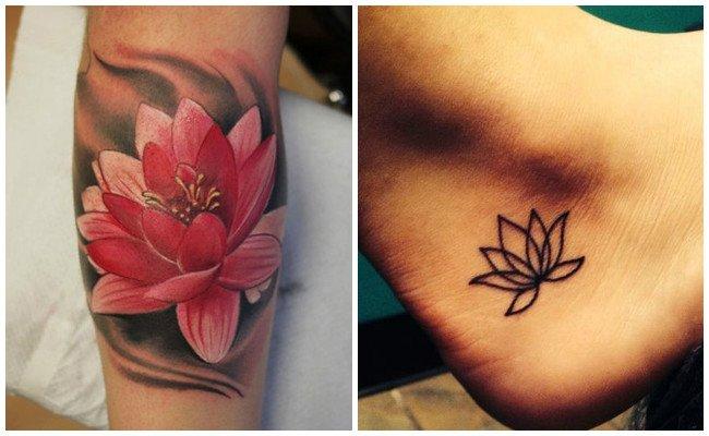 Dónde tatuarse una flor de loto
