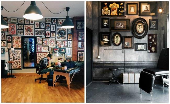 Estudios de tatuajes y sus fotos