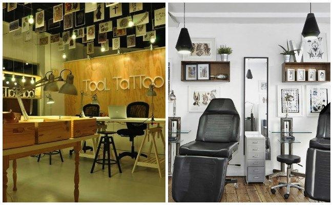 Estudios de tatuajes y piercing