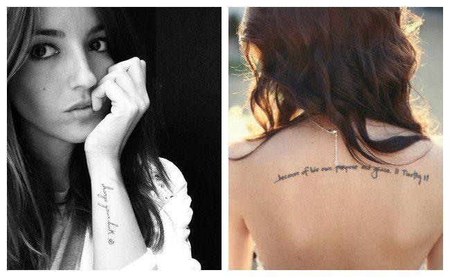 Fotos de letras para tatuajes