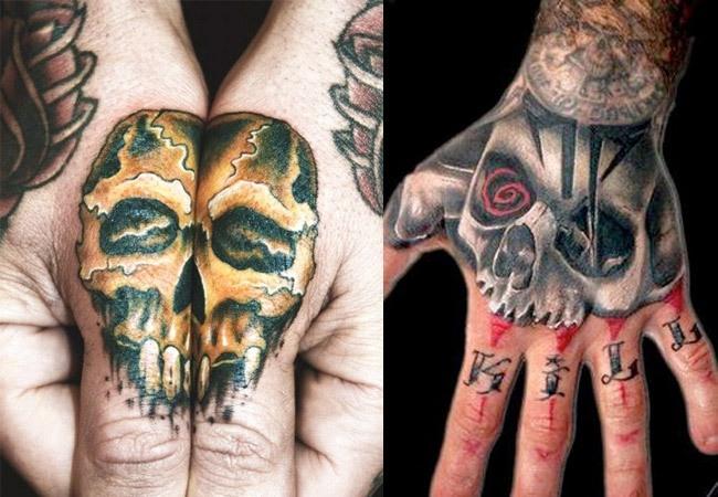 Fotos de tattoos de calaveras