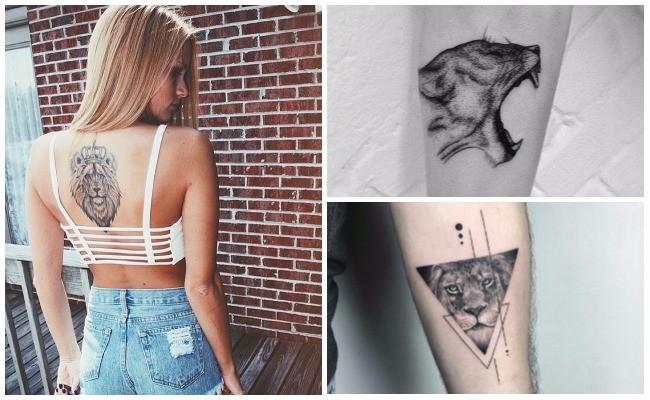 Tatuajes De Leones Imagenes Y Signficados Hombres Y Mujeres