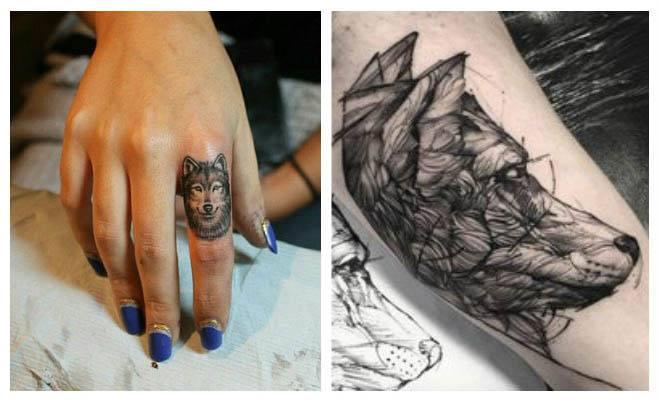 Fotos de tatuajes de lobos