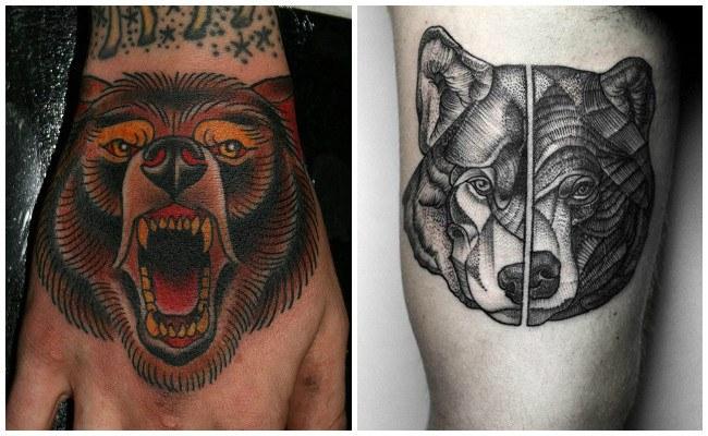 Fotos de tatuajes de osos