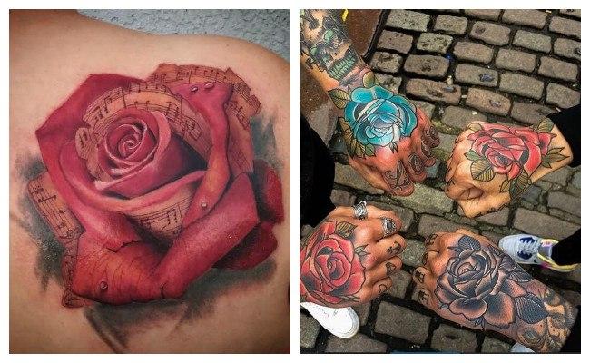 Fotos de tatuajes de rosas