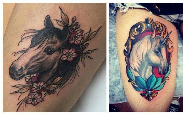 Fotos de tatuajes de caballos