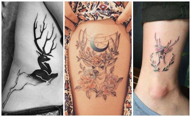Fotos de tatuajes de ciervos