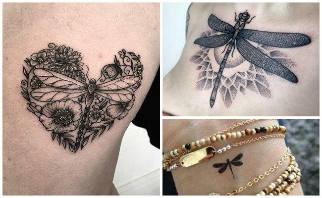 Fotos de tatuajes de libelulas