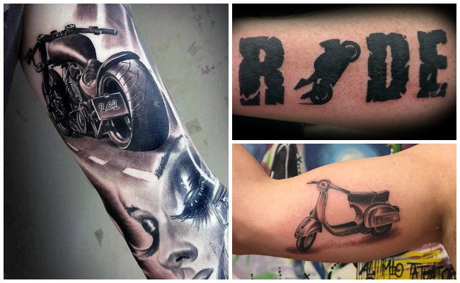 Fotos de tatuajes de motos