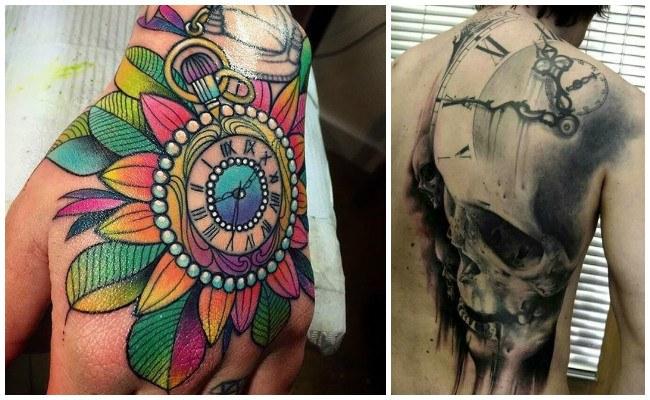 Fotos de tatuajes de relojes
