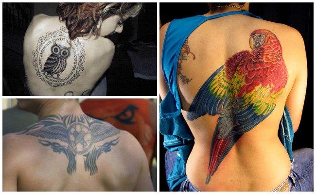 Fotos de tatuajes en la espalda