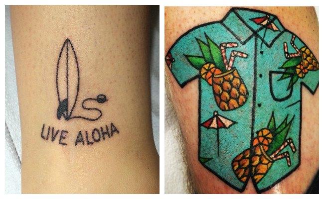 Fotos de tatuajes hawaianos