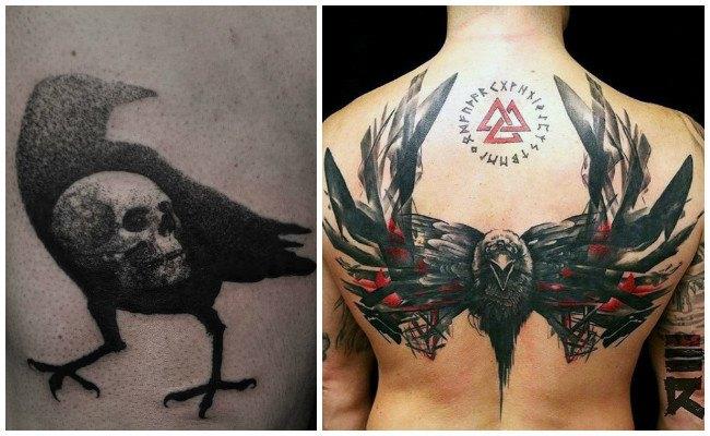 Imágenes de cuervos para tatuajes