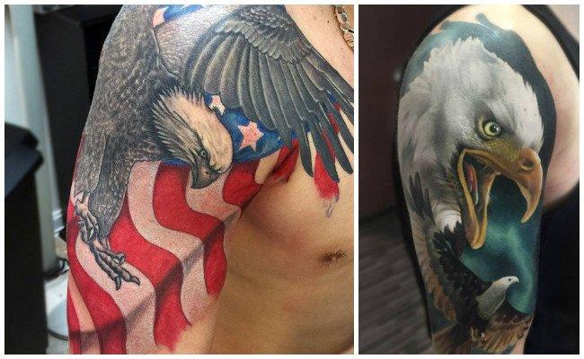Imágenes de tatuajes de águilas
