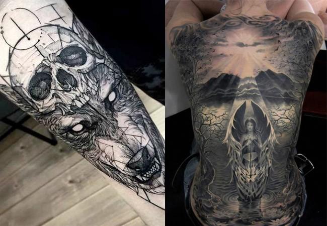Tatuajes de calaveras y craneos dise os y significados for Calavera lobo