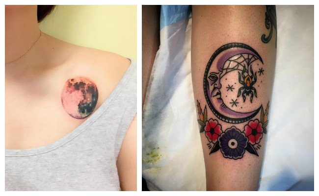 Imágenes de tatuajes de lunas