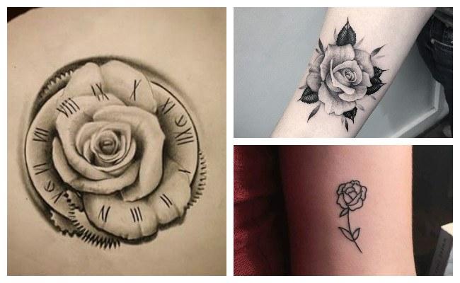 Imagenes de tatuajes de rosas