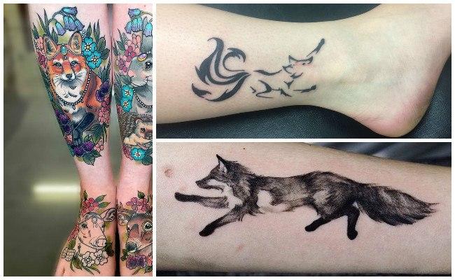Imágenes de tatuajes de zorros
