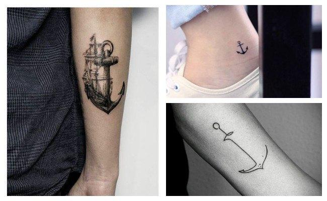 Imágenes de tatuajes de anclas