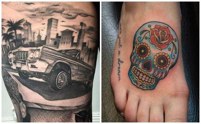 Imágenes de tatuajes de catrinas