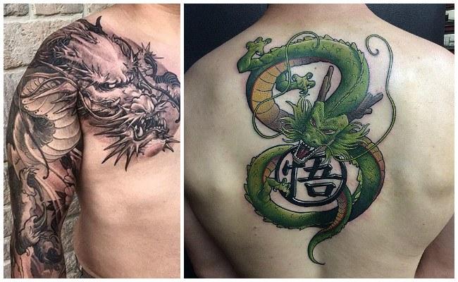 Imágenes de tatuajes de dragones