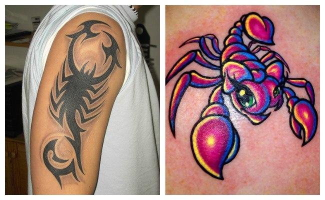 Imágenes de tatuajes de escorpiones