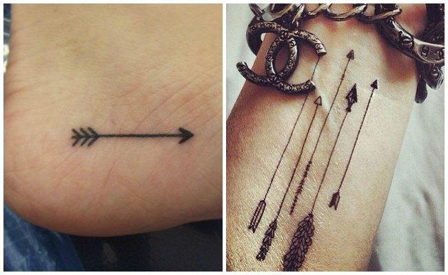 Imágenes de tatuajes de flechas