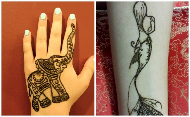 Imágenes de tatuajes de henna