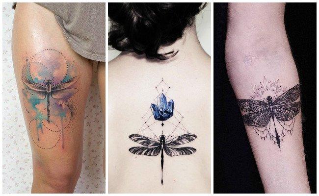 Imágenes de tatuajes de libélulas