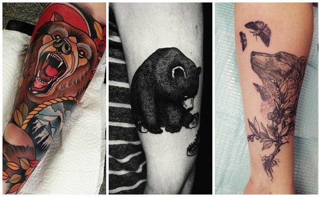 Imágenes de tatuajes de osos
