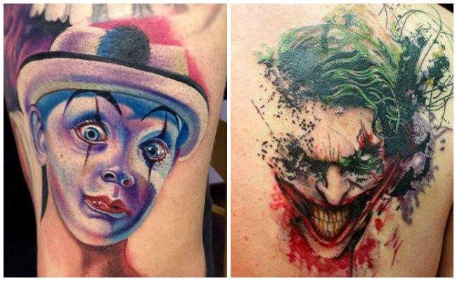 Imágenes de tatuajes de payasos