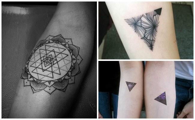 Imágenes de tatuajes de triángulos