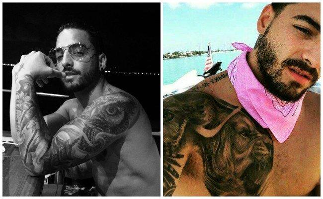 Los Tatuajes De Maluma Y El Significado Que Esconden Revelado Por él