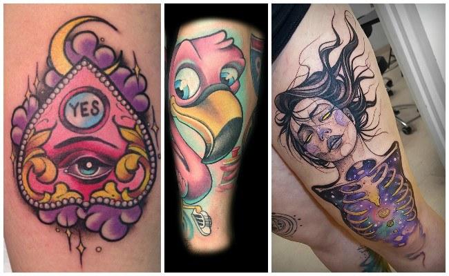 Imágenes de tatuajes nueva escuela