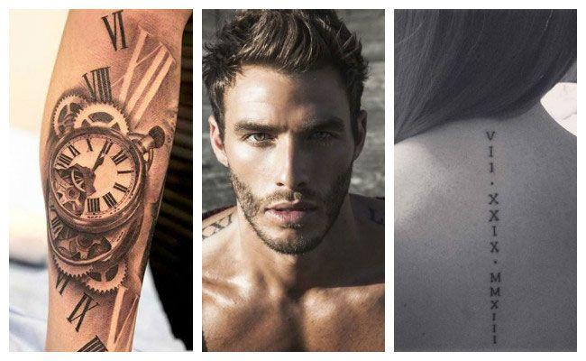 Imágenes de tatuajes en números romanos