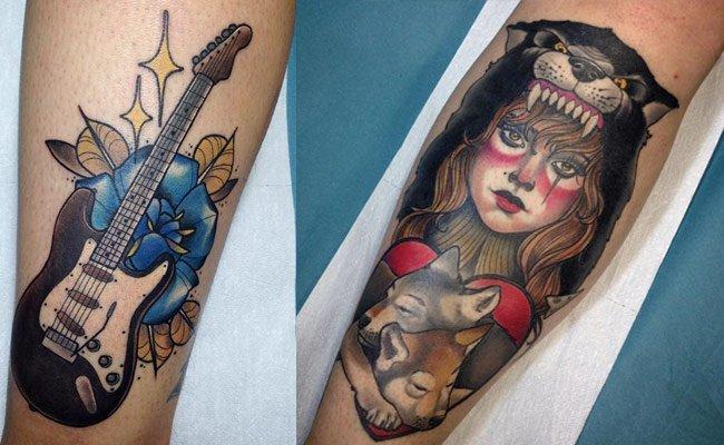 la mujer barbuda tattoo getafe