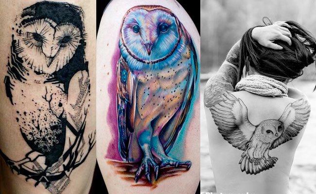 lechuza tattoo