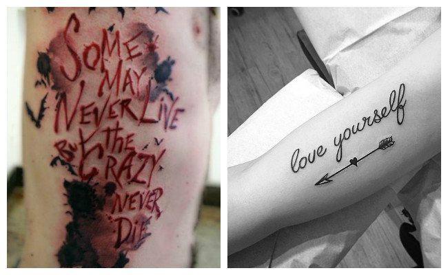 Letras para tatuaje de frases originales