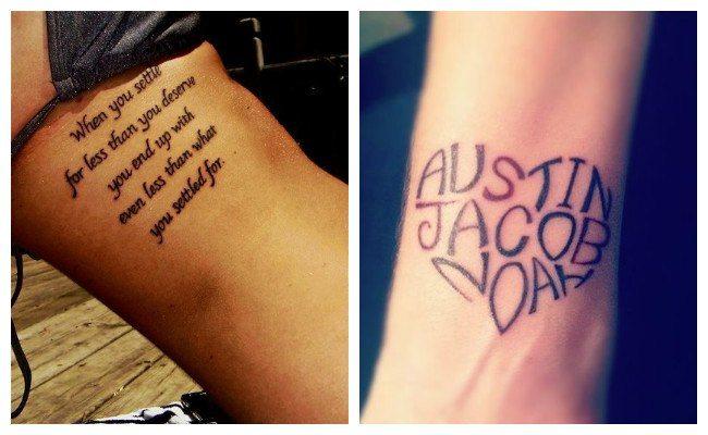 Letras para tatuajes bonitas