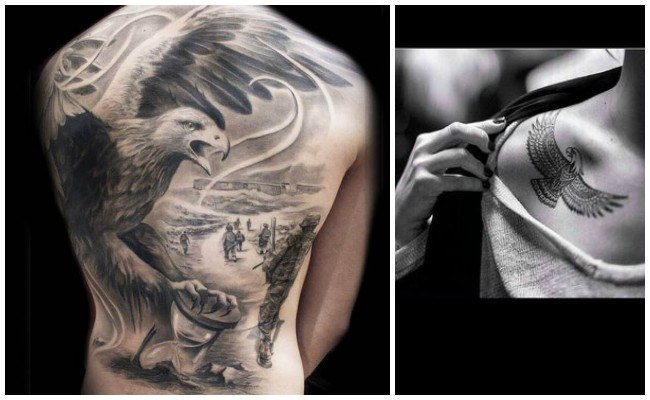 Los mejores tatuajes de águilas
